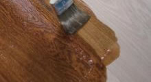 Holz laugen und seifen