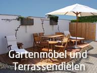 Gartenmöbel und Terrassenholz in Freiburg bei Bioraum