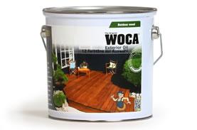 WOCA wasserbasiertes Öl für Außen