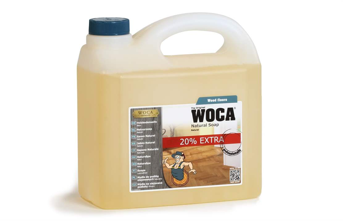 WOCA Holzbodenseife natur 3 Liter