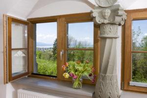 Super Holzfenster richtig behandeln mit KREIDEZEIT Standölfarben oder DT23