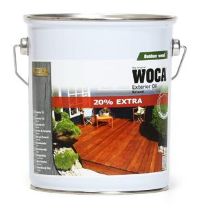 WOCA Exterior Öl - Für die Grundbehandlung und Pflege von neuen oder behandelten Holzoberflächen im Außenbereich