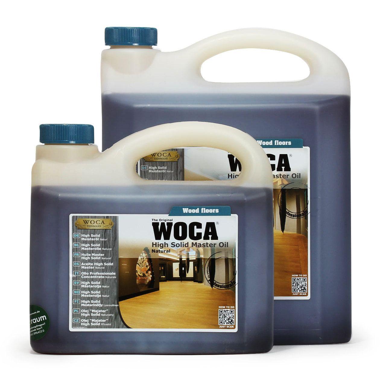 WOCA High Solid Messteröl im Farbton Natur