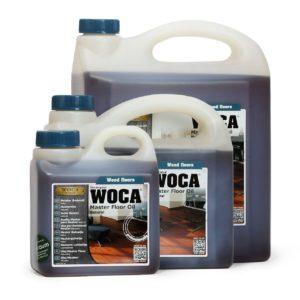WOCA Meister Bodenöl - für die Versiegelung mit Öl